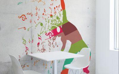 Spandex lägger till ny självhäftande väggtextil till sitt ImagePerfect™-sortiment