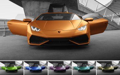 Brunner erweitert sein Portfolio an Fahrzeugfolien um sechs neue Farben von Avery Dennison Supreme Wrapping Film