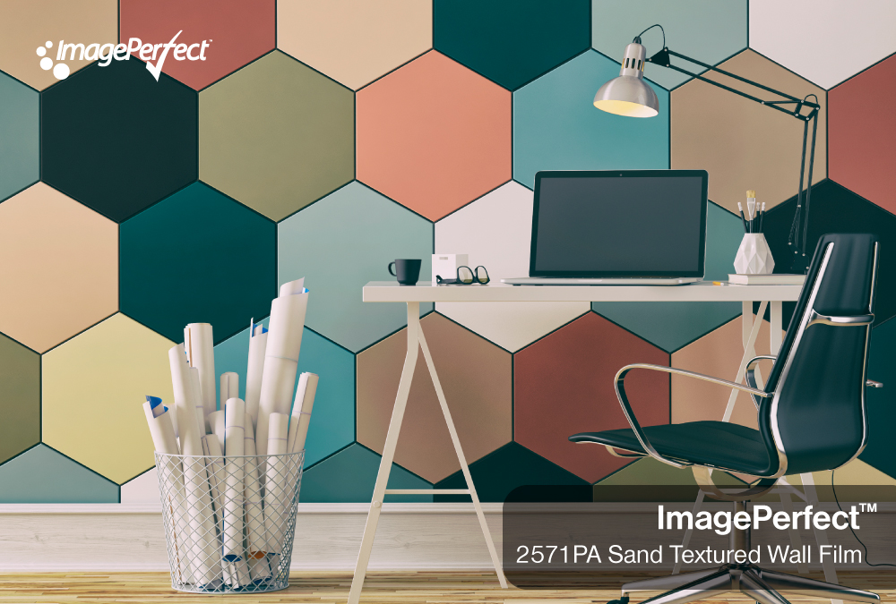 ImagePerfect 2571PA Sand Textured Wall Film
