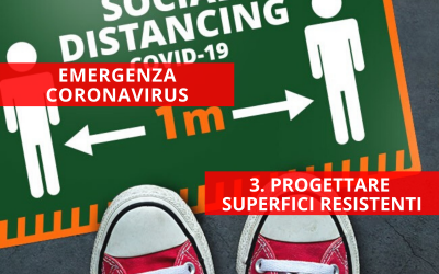 Emergenza Coronavirus: progettare superfici resistenti