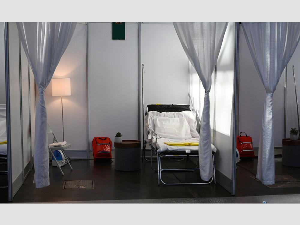 Antibakteriella tyger för corona-avdelningar på sjukhus