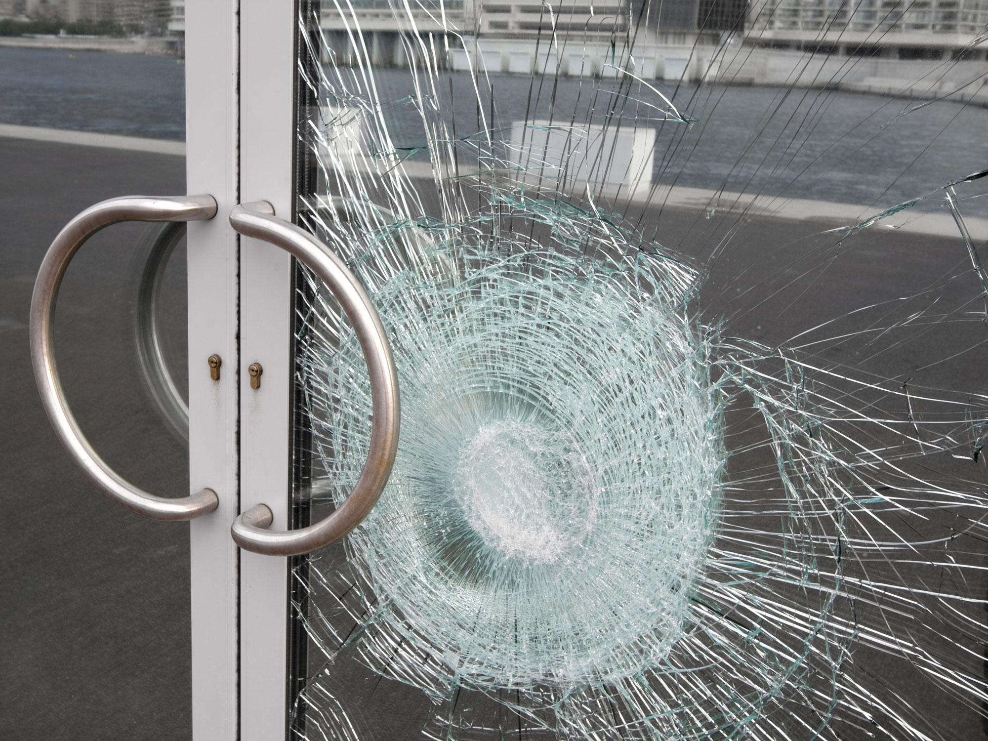 Säkerhetsfilm mot inbrott