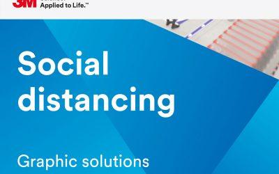 Social distansering – tips & råd från 3M för olika branscher