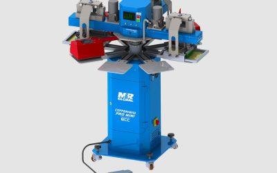 M&R Global Copperhead Pro MINI maskin för screentryck