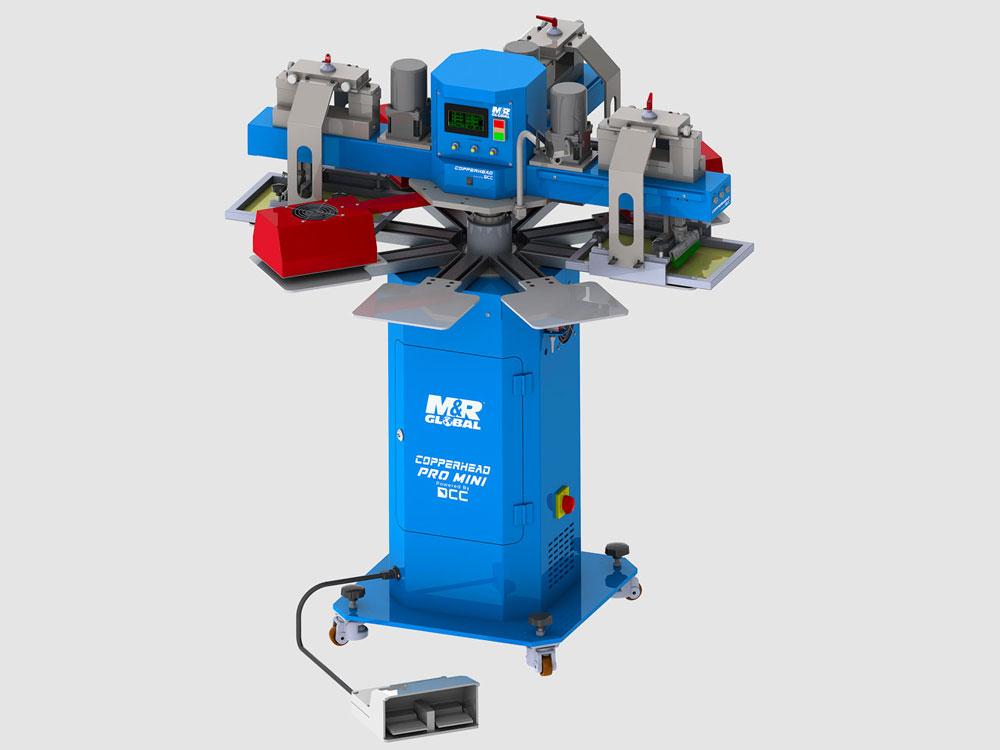 M&R Global lanserar Copperhead Pro MINI – en serie prisvärda maskiner för screentryck