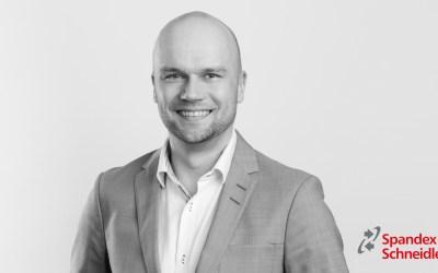 Spandex Schneidler tar in ny VD från Seri-Deco i Finland
