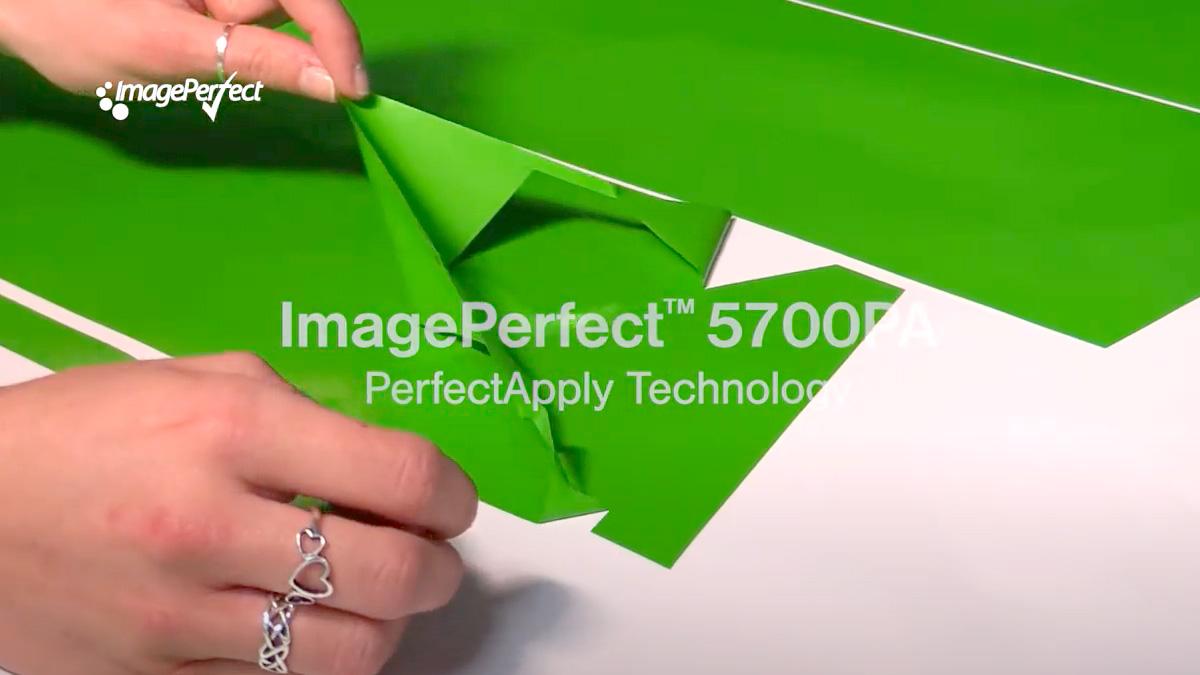 Skärfolie för riktiga proffs – ImagePerfect 5700