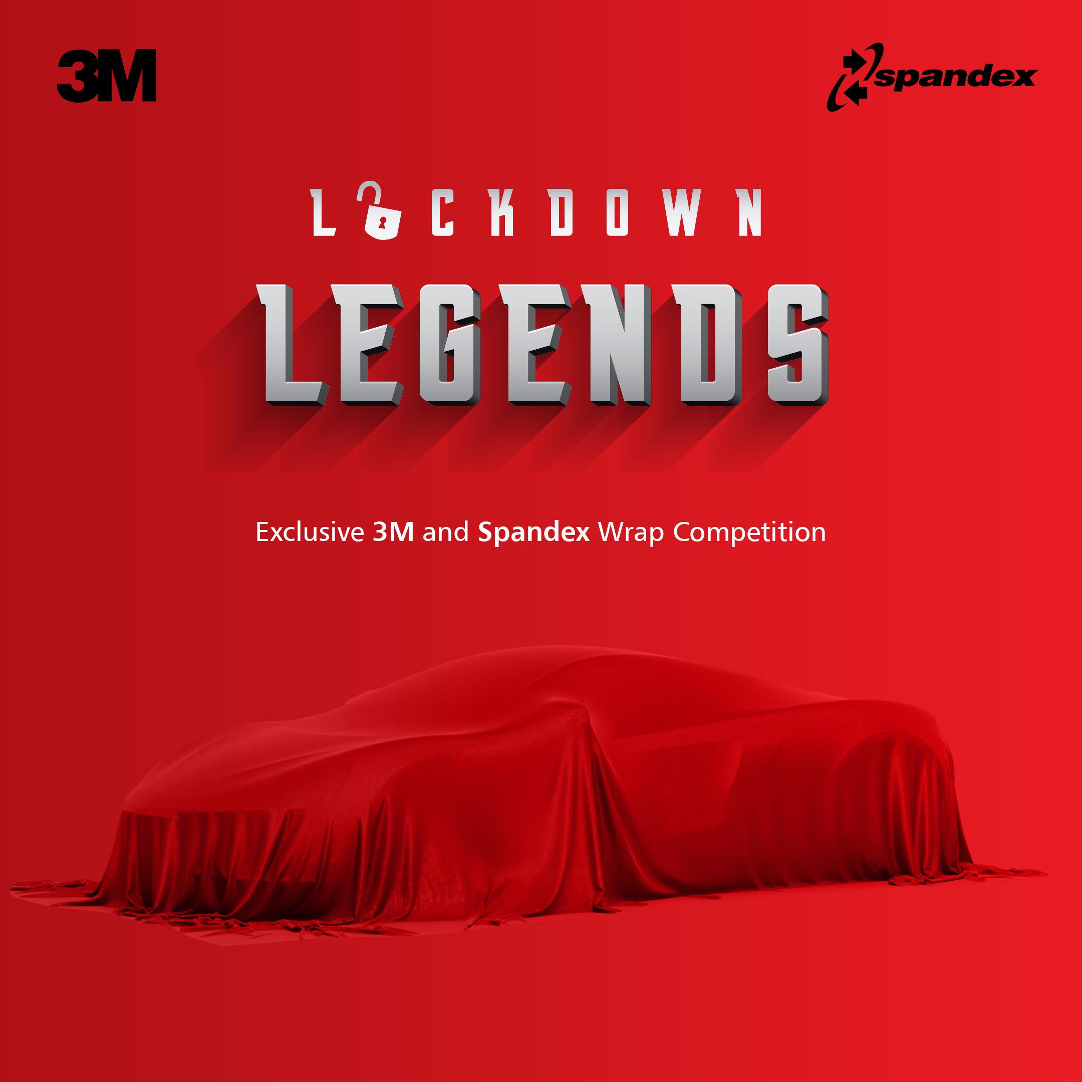Spandex e 3M annunciano i vincitori del contest Lockdown Legends