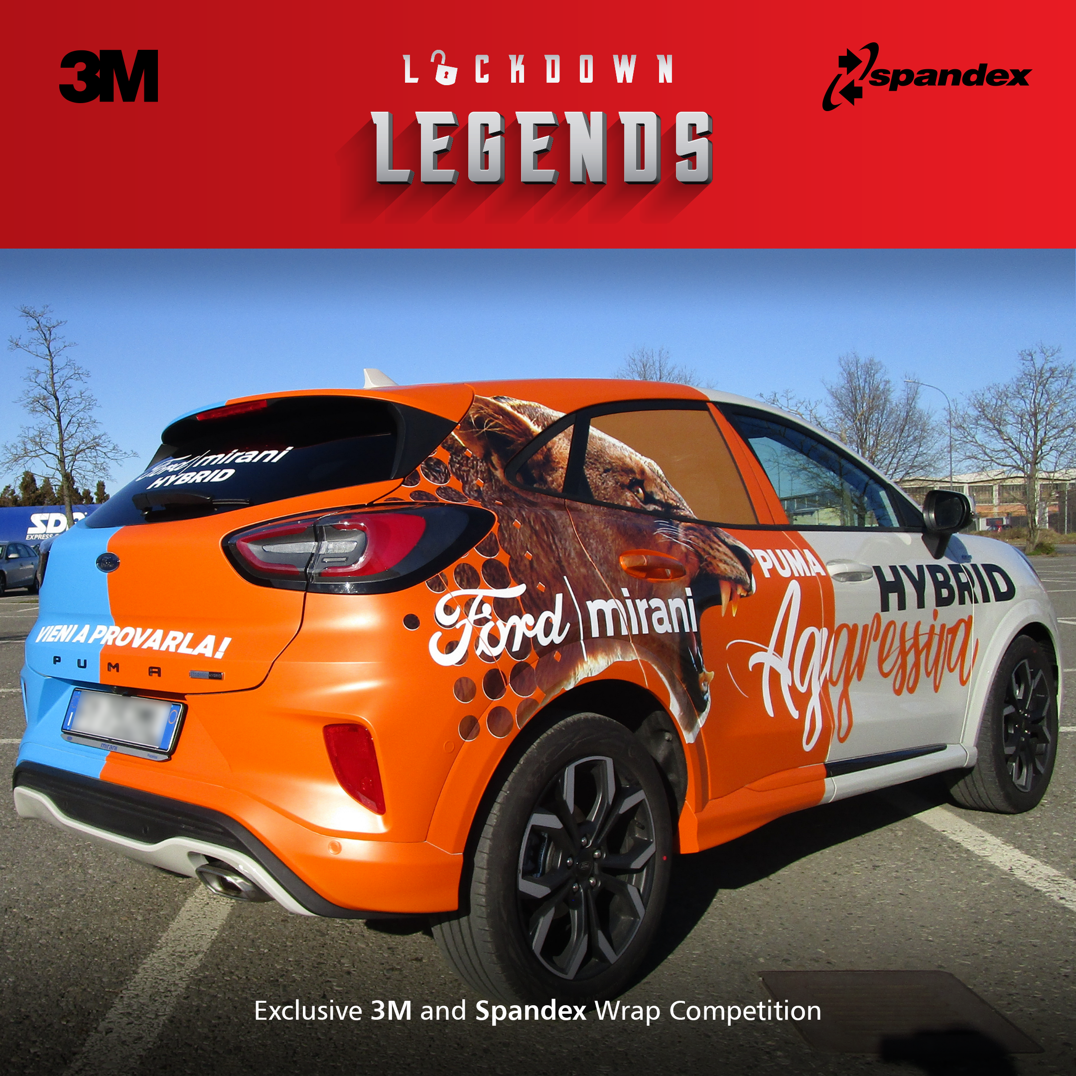 Secondo classificato Lockdown Legends