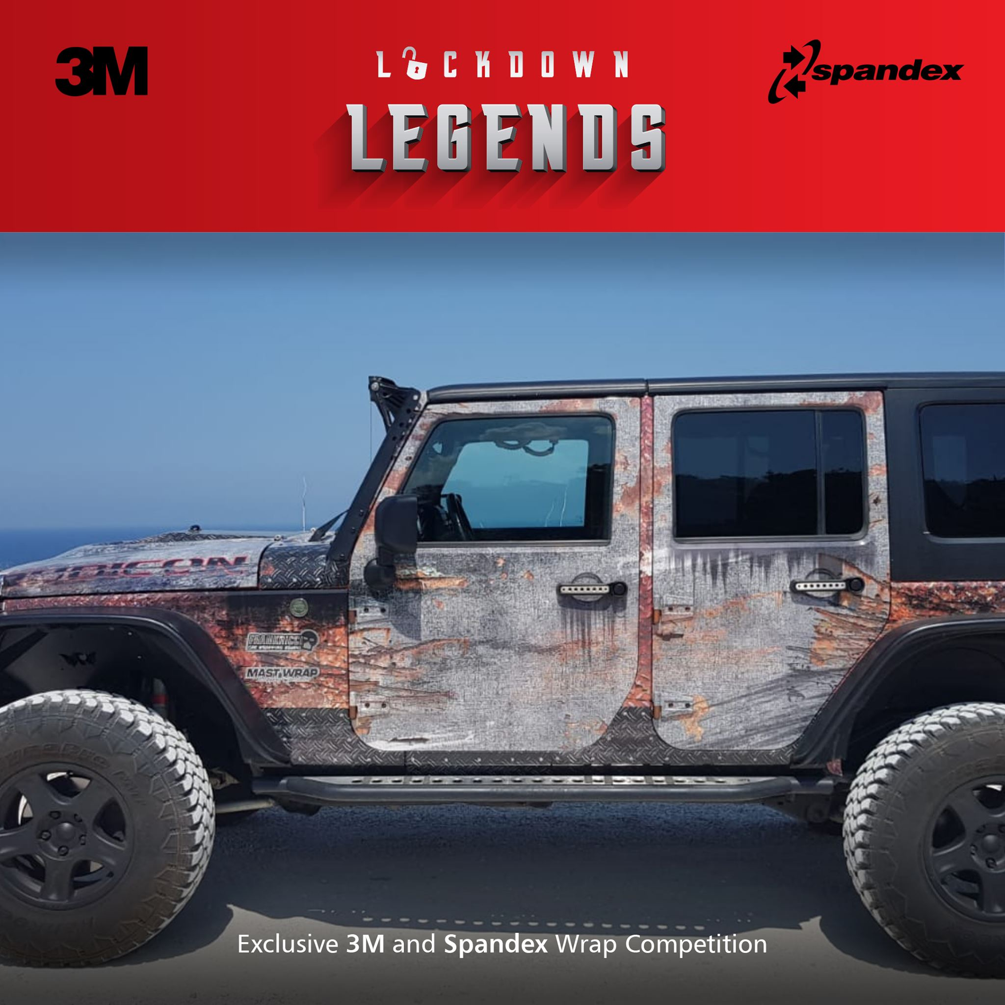 primo classificato Lockdown Legends