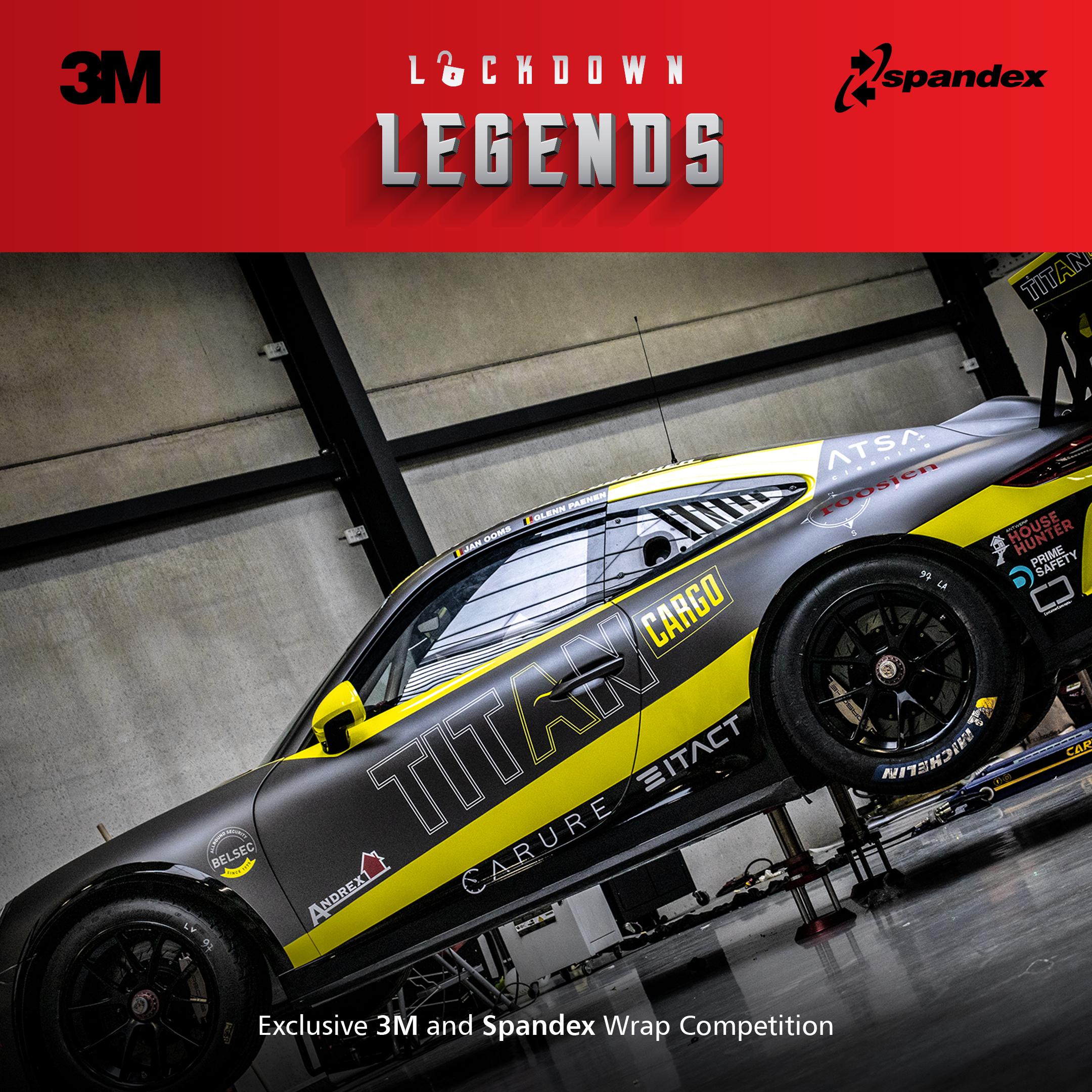 Spandex en 3M maken de winnaars van de 'Lockdown Legends' competitie bekend
